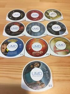 10 PSP MOVIES $20 FOR ALL