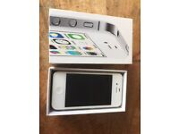 IPhone 4S 8GB plus charger plug and cable & protective case