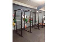 Full power rack, power cage, squat rack