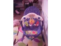 baby bouncer with lights and sound