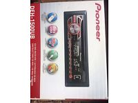 pioneer car radio cd mp3usb aux