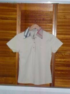 Burberry Polo Shirt - LATTE - Sz Lrg Middle Park Brisbane South West Preview