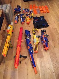 Nerf guns - full arsenal