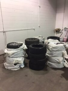 TIRES and RIMS (SOME USED SOME NEW)