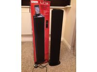 Tower speaker/docking station