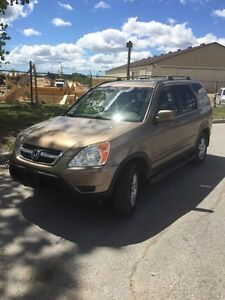 2002 Honda CR-V LX fully loaded