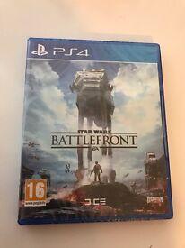 Star Wars Battlefront - PS4 (Brand New Sealed)