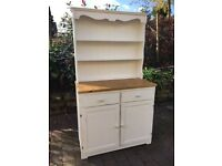 Shabby Chic Painted Pine Welsh Dresser