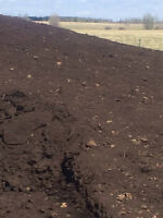 60 YR OLD COMPOSTED ROTTED COW MANURE / BLACK PLANTING  SOIL
