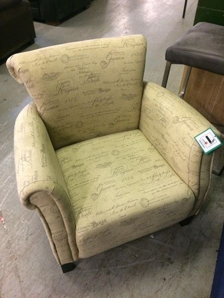 Brand new occasional arm chair