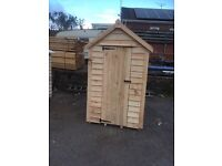 6x4 heavy duty overlap shed