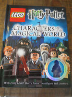 Harry Potter Characters of the Magical World LEGO Book