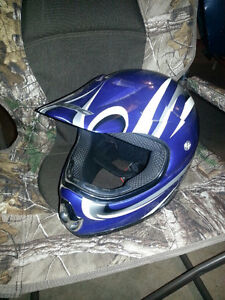 Dirtbike and Snocross Helment all in one