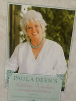 PAULA DEENS Kitchen wisdom and RECIPE JOURNAL  NEW