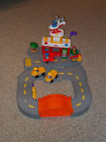 fisher price discovery airport. helicopter,cars , no offers
