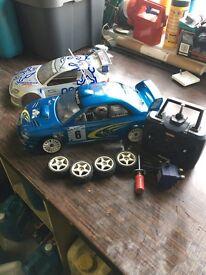 Kyosho petrol remote control car