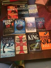 Selection of Stephen king books