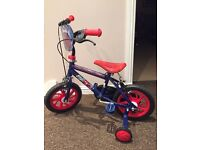 "12"" Spider-Man Bike"