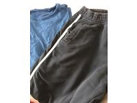 Bundle of next top and jogging bottoms aged 12 13 14 joggers tshirt long sleeve next boys