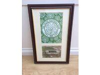 Celtic framed picture