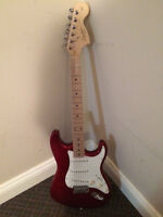 FS: Affinity Squier Stratocaster, Red, $125