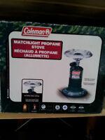 Coleman 1-Burner Propane Matchlight Stove