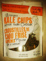 SOLAR RAW ULTIMATE KALE CHIPS ~ BETTER THAN CHEDDAR HEALTH SNACK