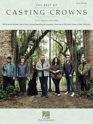 The Best of Casting Crowns Sheet Music Easy Piano Book NEW 000130953