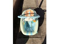 Fisher price baby seat with sounds and vibrate