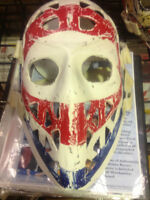 KEN DRYDEN Montreal Canadiens Vintage Target Mask by Don Scott