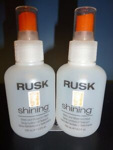 Rusk Shining Sheen and Movement Myst 4.2 Ounces (X2)
