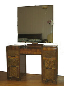 Coiffeuse et commode style vintage 1940