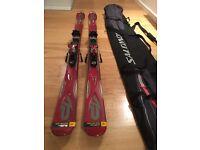 K2 Apache Stryker Skis + Marker M1 12.0 Bindings + Poles