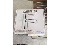 Bath filler chrome mixer tap