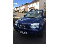 Nissan x trail reduced to £3750