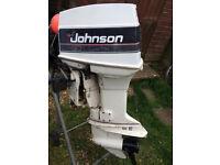 Johnson 60hp longshaft ptt outboard