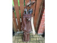 Golf clubs mix of old & modern