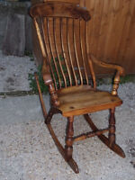 ancienne chaise western