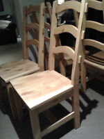 Dining room chairs x4 from Faveries