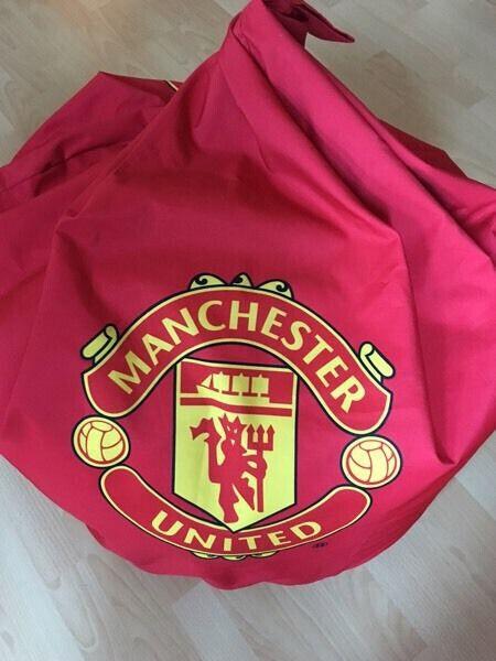 Amazing Manchester United Bean Bag In Church Village Rhondda Cynon Taf Gumtree Uwap Interior Chair Design Uwaporg