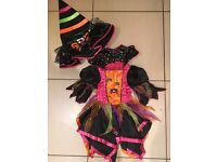 Witches costume age 3-4