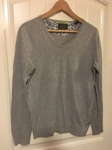 Grey slim fit sweater from Scotch and Soda