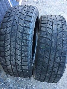 225/55/18 Dunlop winter tires