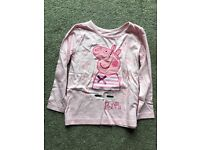 Peppa Pig and Frozen tops