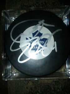 TORONTO MAPLE LEAFS AUTOGRAPHED PHOTOS AND PUCKS Edmonton Edmonton Area image 9