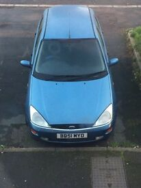 51 plate Ford Focus.