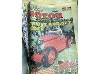 26 Classic Motor & Autojumbler newspapers