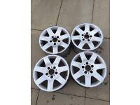 BMW alloys / winter wheels