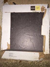 Black Ceramic Floor Tiles