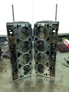Used 906 Vortec heads , bolts, rocker arms